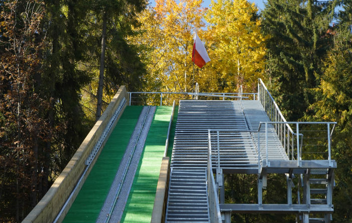 New ski jumping hills in Chochołów