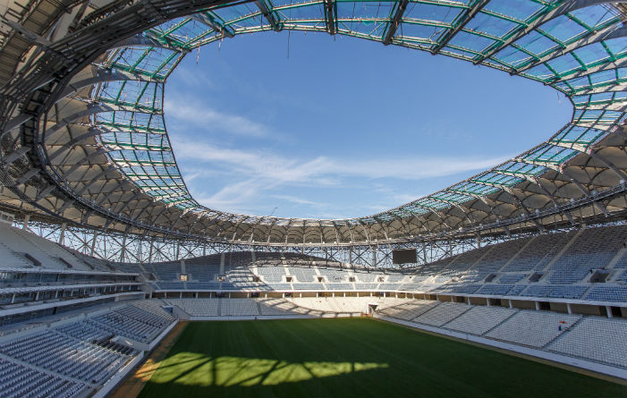 Staco gratings in Russian World Cup stadiums